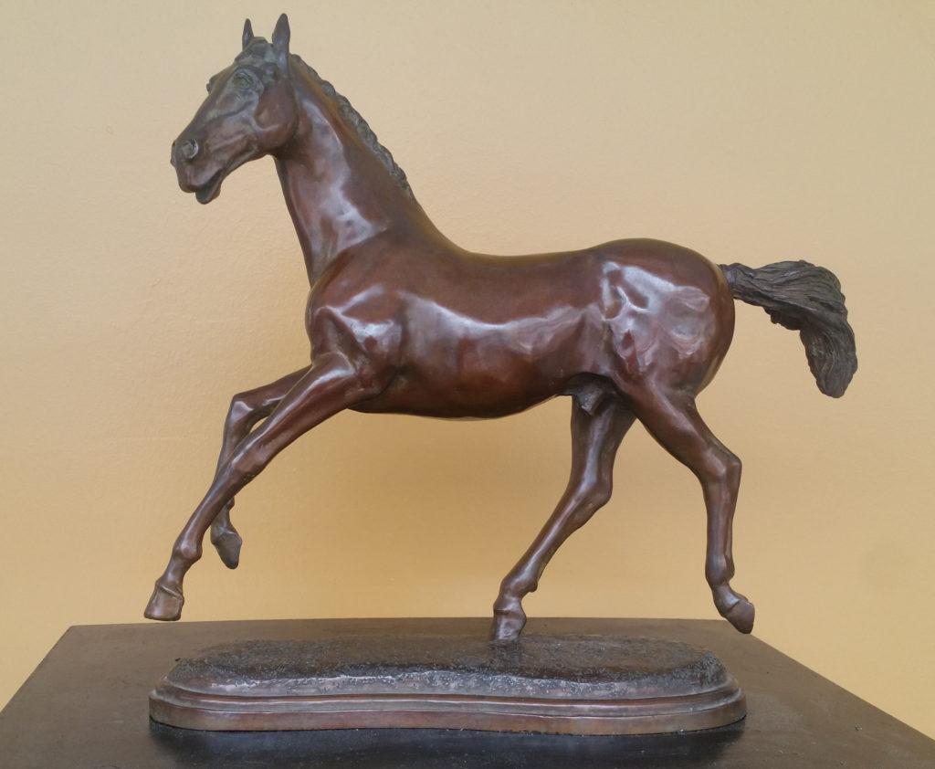 Une autre sculpture liée à la femme :LADY GODIVA